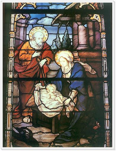 Józef Mehoffer (1869-1946) Narodziny Jezusa