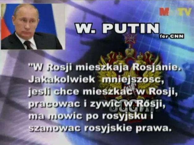 Putin dla CNN