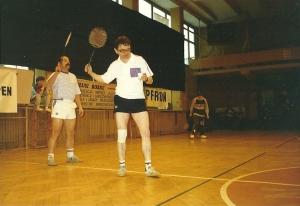Od lewej: Wiesław Drewicz, autor wpisu)