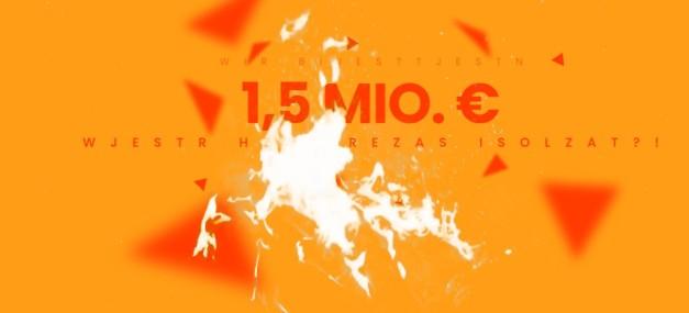 1,5 mln e